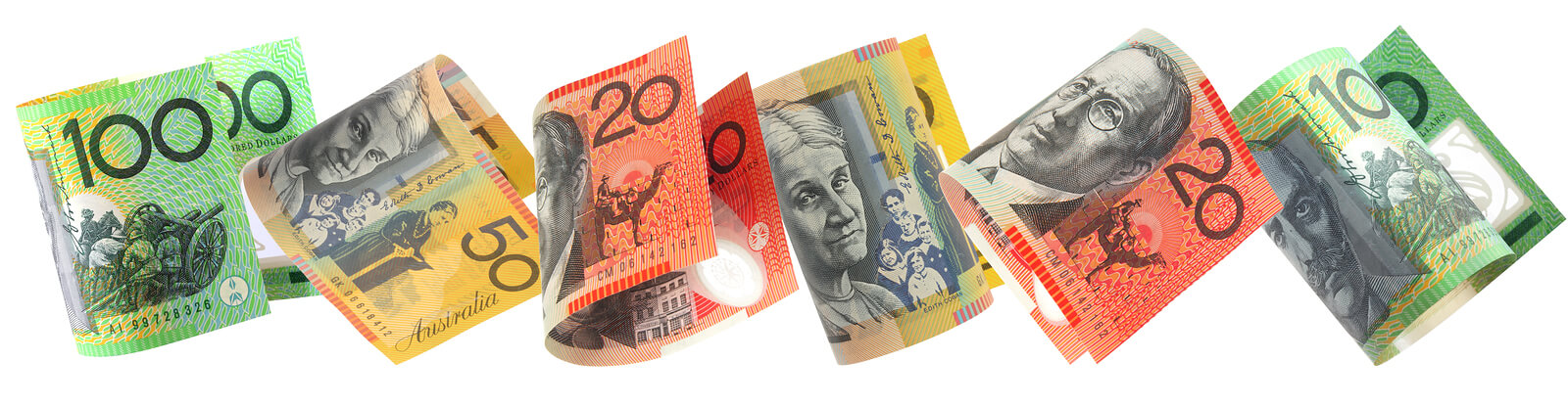 bigstockphoto_Aussie_Money_Border